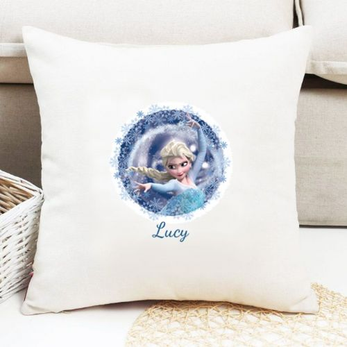 Elsa Personalised Cushion